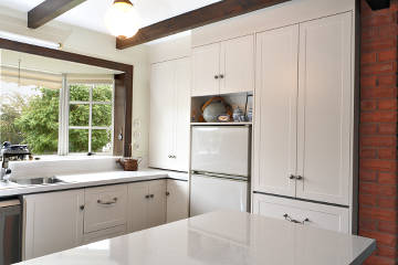 Country style kitchen with modern fittings